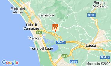 Karte Viareggio Appartement 114660
