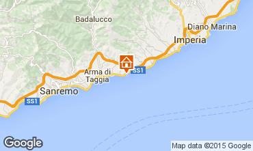 Karte Santo Stefano al Mare Appartement 96548