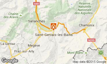 Karte Saint Gervais Mont-Blanc Chalet 101701