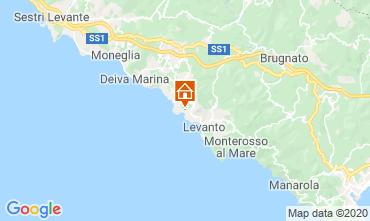 Karte Bonassola Appartement 107580