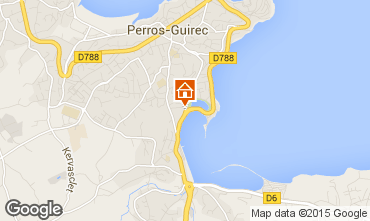 Karte Perros-Guirec Appartement 35891