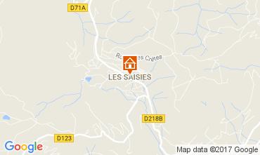 Karte Les Saisies Studio 2724