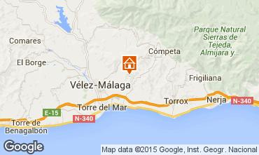 Karte Arenas Chalet 93750