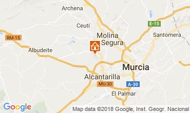 Karte Murcia Villa 113991