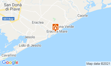 Karte Eraclea Mare Appartement 75264