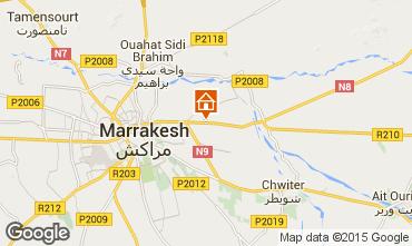 Karte Marrakesch Villa 84697