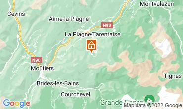 Karte La Plagne Appartement 77055