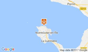 Karte Noirmoutier en l'Île Haus 111693