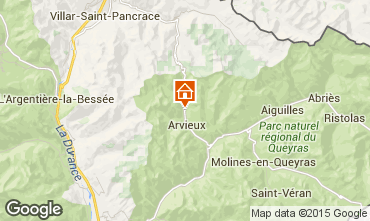 Karte Arvieux en Queyras Studio 536