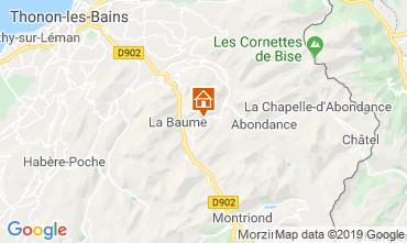 Karte Drouzin Le Mont Studio 34212