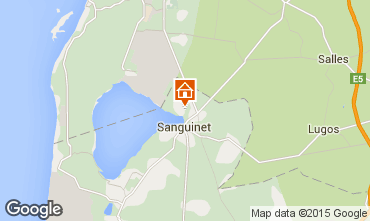 Karte Sanguinet Mobil-Home 18778