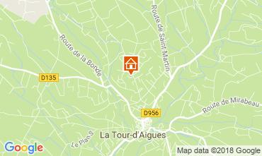 Karte La Tour d'Aigues Villa 115511