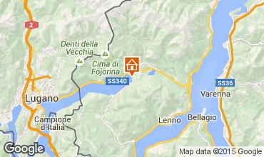 Karte Porlezza Ferienunterkunft auf dem Land 62644