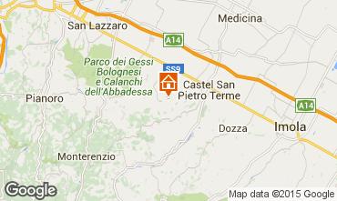 Karte Castel San Pietro Terme Appartement 67627