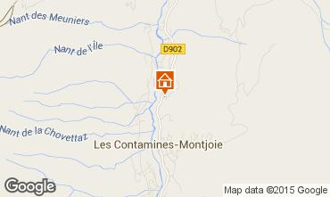 Karte Les Contamines Montjoie Chalet 971