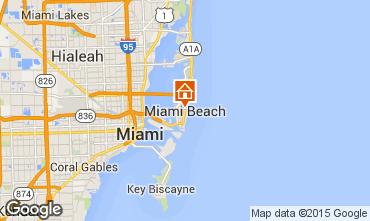 Karte Miami Beach Studio 5335