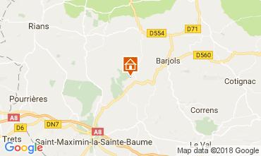 Karte Saint Maximin la Sainte Baume Villa 112780
