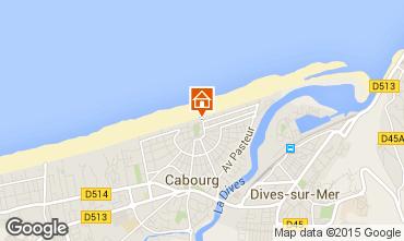 Karte Cabourg Villa 82116