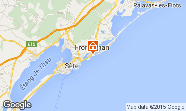 Karte Frontignan Villa 78184
