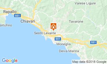 Karte Sestri Levante Appartement 116159