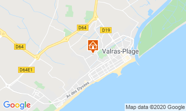 Karte Valras-Plage Villa 100786