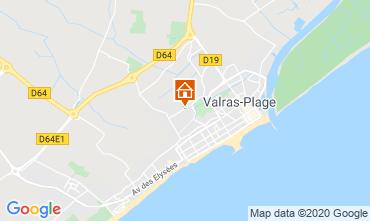 Karte Valras-Plage Haus 100786