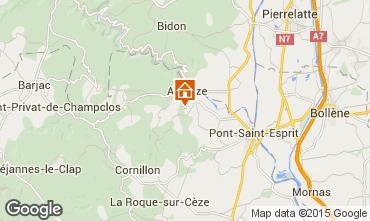 Karte Saint-Julien-de-Peyrolas Villa 100704