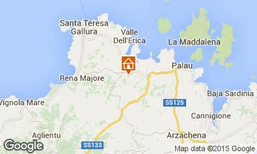 Karte Santa Teresa di Gallura Appartement 31639