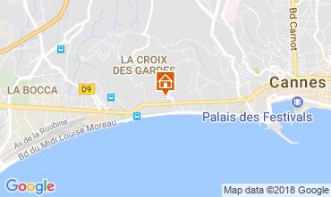 Karte Cannes Appartement 114426