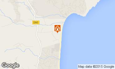 Karte Saint Tropez Mobil-Home 5678