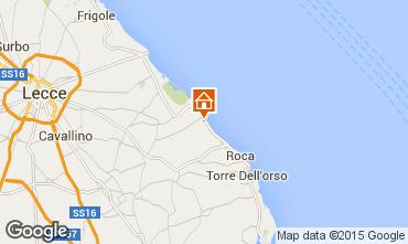 Karte San Foca Villa 24434