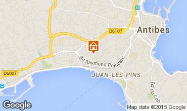 Karte Juan les Pins Appartement 80031