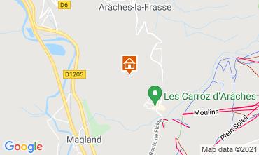 Karte Les Carroz d'Araches Appartement 50169