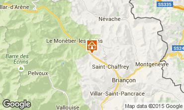 Karte Serre Chevalier Chalet 14631