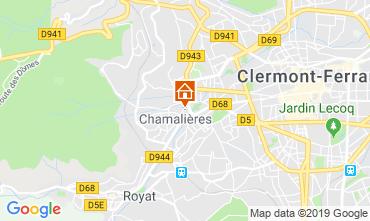 Karte Royat Chamalières Appartement 119899