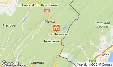 Karte Les Rousses Studio 14776