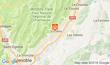 Karte Grenoble Haus 115405