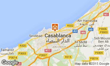 Karte Casablanca Appartement 54785