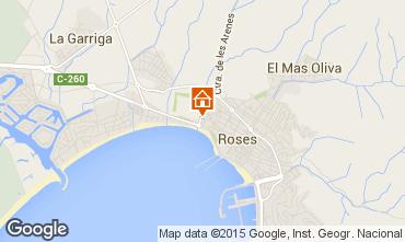 Karte Rosas Appartement 68460