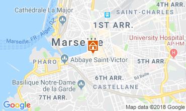 Karte Marseille Studio 5963