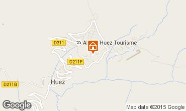 Karte Alpe d'Huez Studio 73434