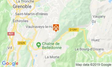 Karte Chamrousse Appartement 30487