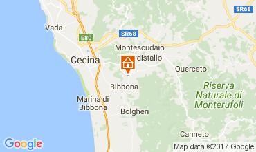 Karte Casale Marittimo Appartement 110856