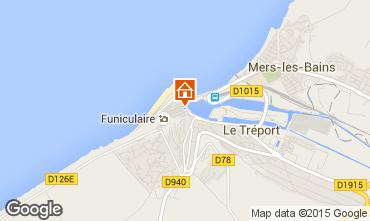 Karte Le Tréport Appartement 94504