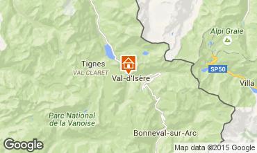 Karte Val d'Isère Appartement 50921