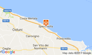 Karte Ostuni Villa 110104