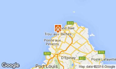 Karte Trou-aux-biches Appartement 9519