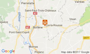 Karte Vaison la Romaine Haus 101053