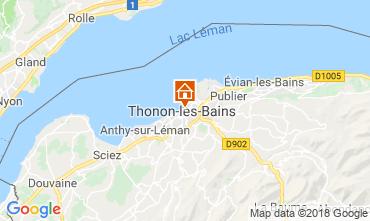 Karte Thonon Les Bains Appartement 114583