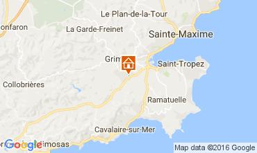 Karte Saint Tropez Appartement 93460